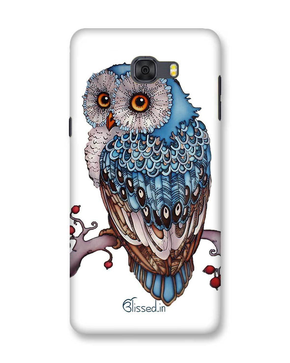 Blue Owl | Samsung Galaxy C9 Pro Phone Case