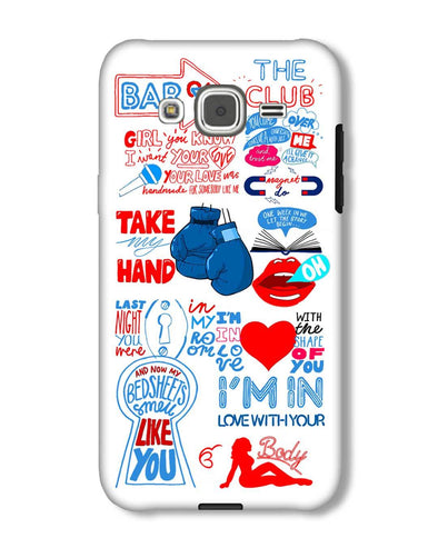 Shape of you - White | Samsung Galaxy J2 phone Case