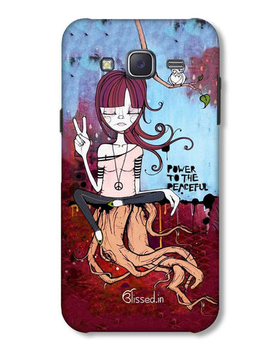 Power to the peaceful | Samsung Galaxy J5 Phone Case