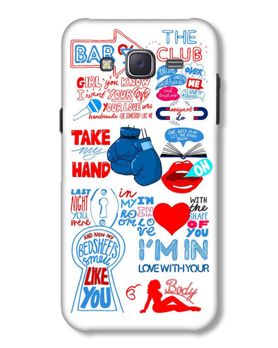 Shape of you - White | Samsung Galaxy J5 phone Case