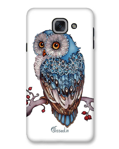 Blue Owl | Samsung Galaxy J7 Max Phone Case