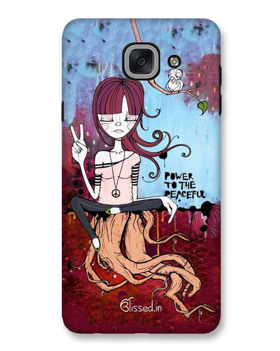 Power to the peaceful | Samsung Galaxy J7 Max Phone Case