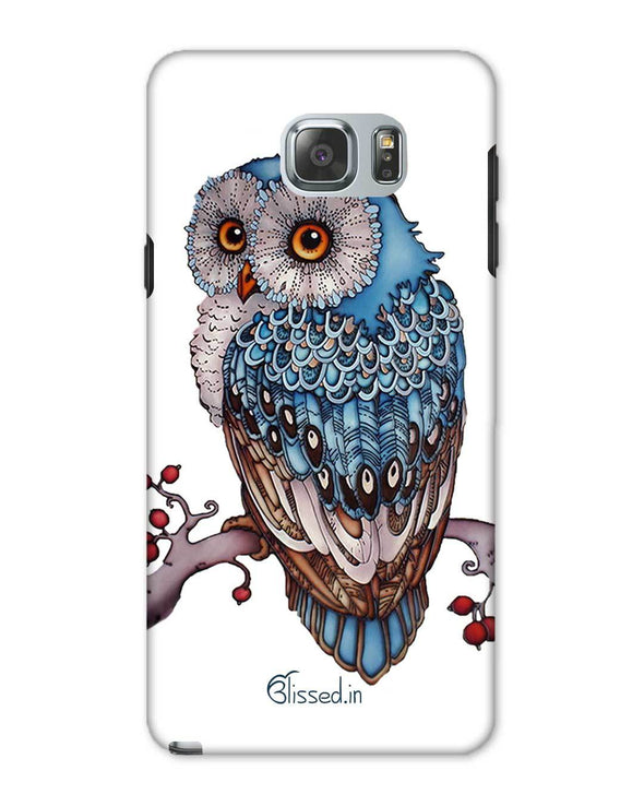 Blue Owl | Samsung Galaxy Note 5 Phone Case