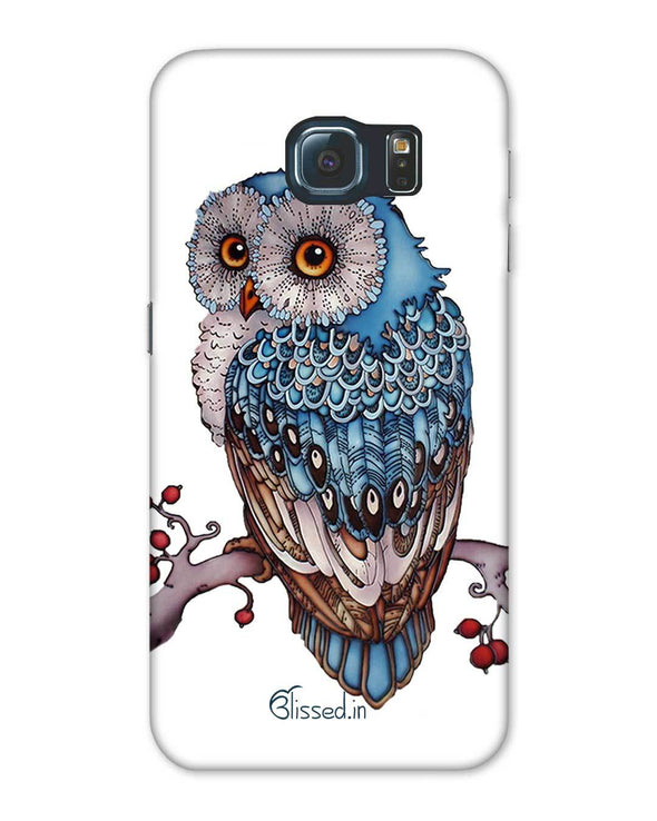 Blue Owl | Samsung Galaxy Note S6 Phone Case
