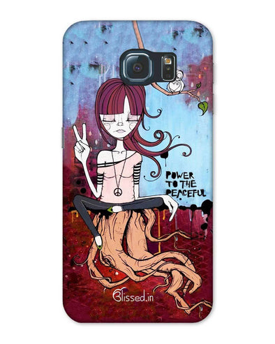 Power to the peaceful | Samsung Galaxy Note S6 Phone Case