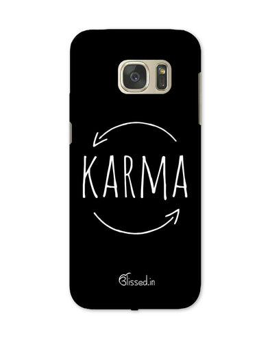 karma | Samsung Galaxy Note S7 Phone Case