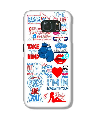Shape of you - White | Samsung Galaxy S6 Edge phone Case
