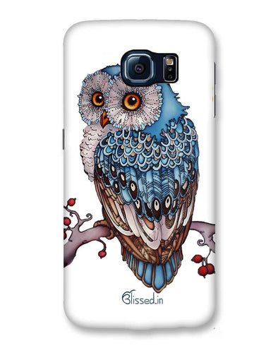 Blue Owl | Samsung Galaxy S6 Phone Case