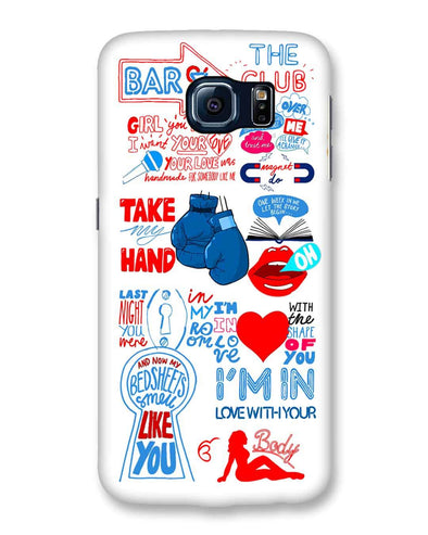 Shape of you - White | Samsung Galaxy S6 phone Case