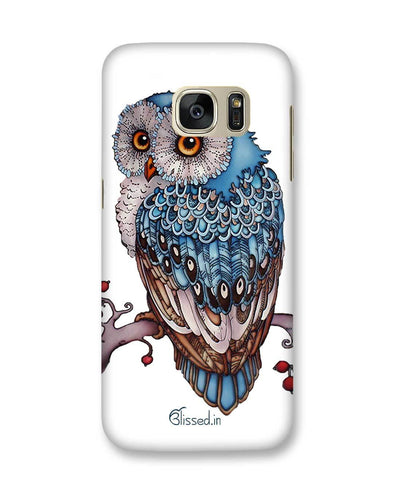 Blue Owl | Samsung Galaxy S7 Phone Case