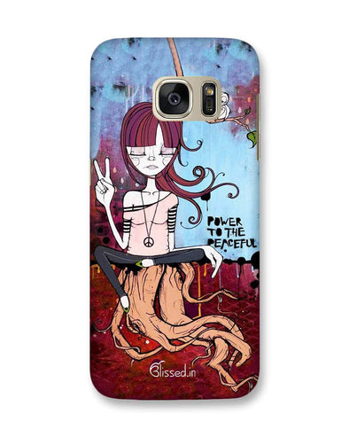 Power to the peaceful | Samsung Galaxy S7 Phone Case