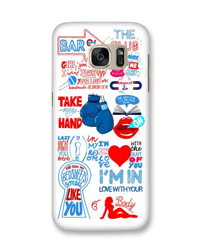 Shape of you - White | Samsung Galaxy S7 phone Case