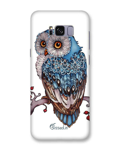 Blue Owl | Samsung Galaxy S8 Plus Phone Case