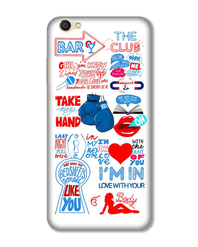 Shape of you - White | Vivo V5 phone Case