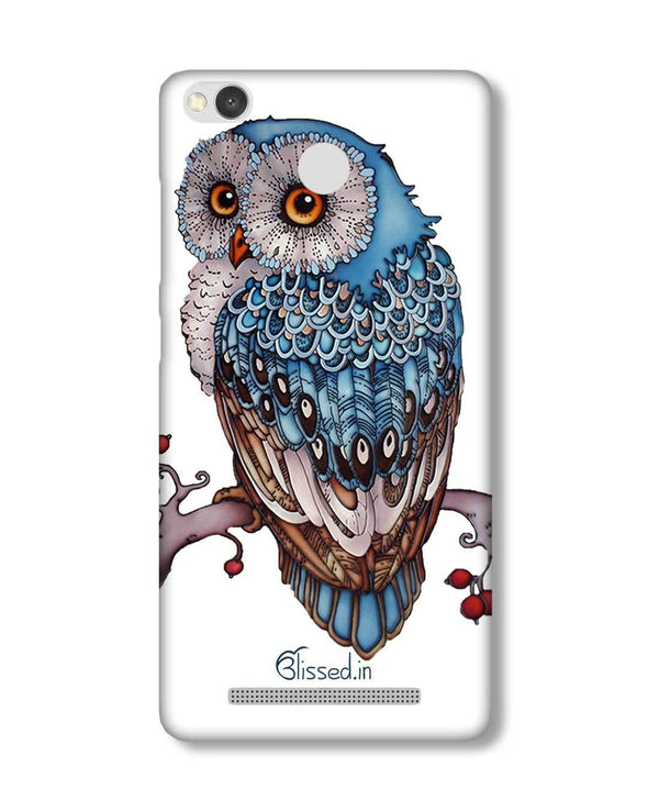Blue Owl | Xiaomi Redmi 3S Prime Phone Case