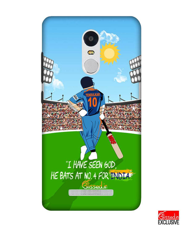 Tribute to Sachin | Xiaomi Redmi Note3 Phone Case