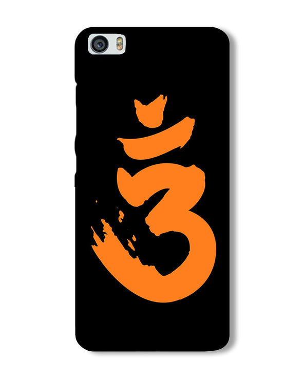 Saffron AUM the un-struck sound | Xiaomi Mi5 Phone Case