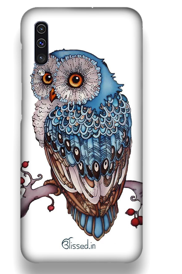 Blue Owl | Samsung Galaxy A50  Phone Case