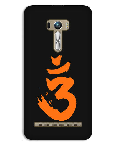 Saffron AUM the un-struck sound | Asus Zenfone Selfi Phone Case