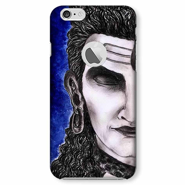 Meditating Shiva | iphone 6 logo cut Phone case