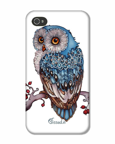 Blue Owl | iPhone 4S Phone Case