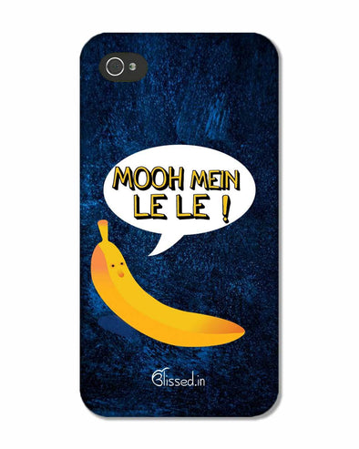 Mooh mein le le | iPhone 4S Phone case