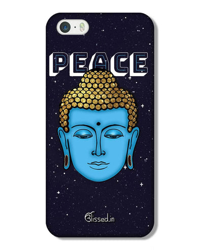 Peace of buddha | iPhone 5 Phone Case