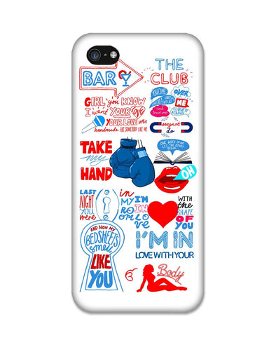 Shape of you - White | iPhone 4S Phone Case