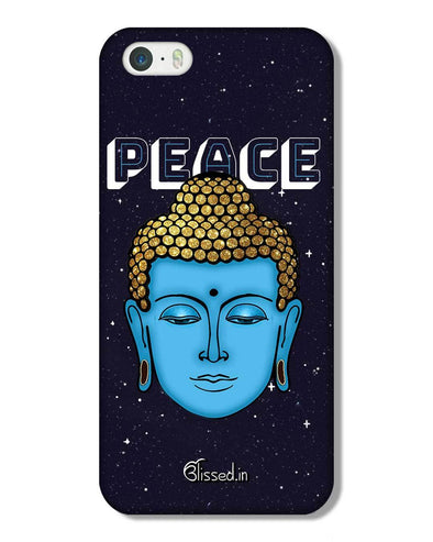 Peace of buddha | iPhone 5S Phone Case