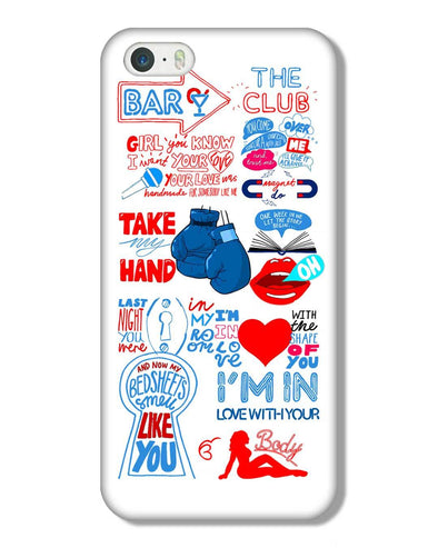 Shape of you - White | iPhone 5S Phone Case