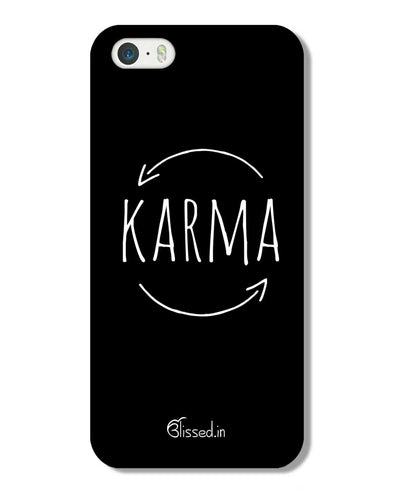karma | iPhone 5S Phone Case