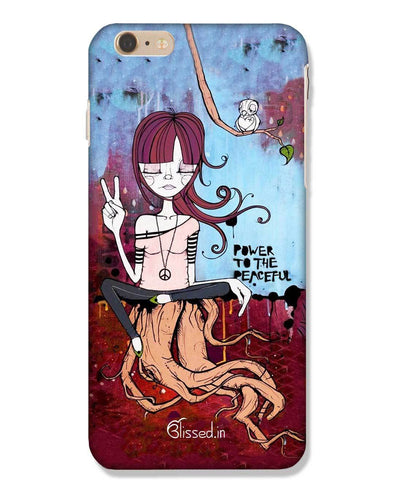Power to the peaceful | iPhone 6 Plus Phone Case