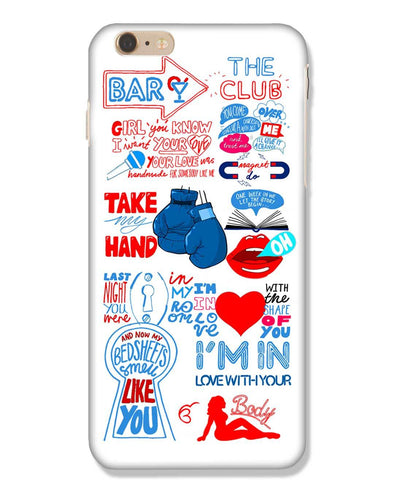 Shape of you - White | iPhone 6 Plus Phone Case
