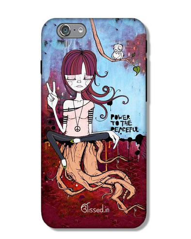 Power to the peaceful | iPhone 6S Phone Case