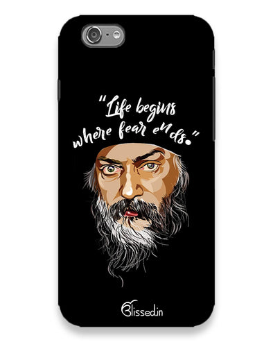 Osho: life and fear  | Iphone 6s l  Phone Case