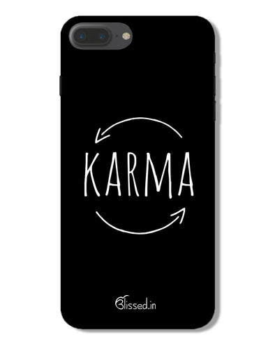 karma | iPhone 7 Plus Phone Case