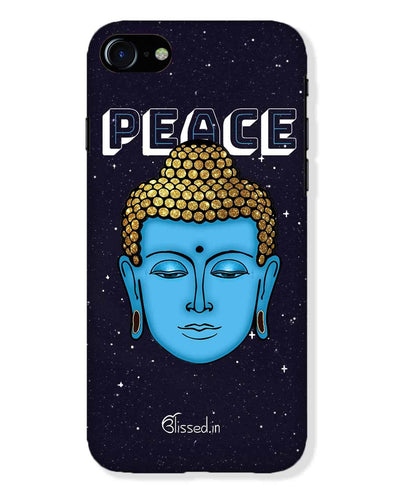 Peace of buddha | iPhone 8 Phone Case