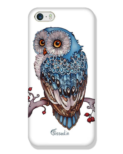 Blue Owl | iPhone SE Phone Case