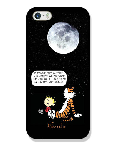 Calvin's Life Wisdom | iPhone SE Phone Case