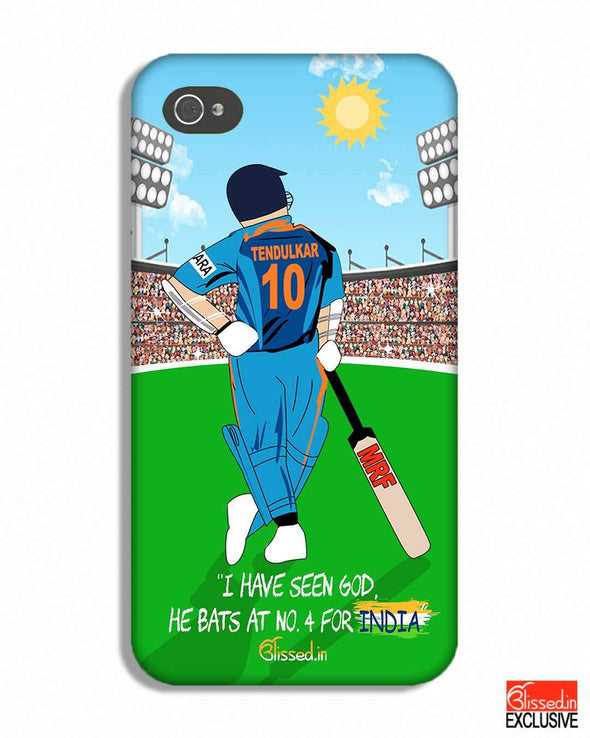 Tribute to Sachin | iPhone 4S Phone Case