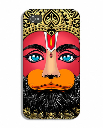 Lord Hanuman | iphone 4 Phone Case