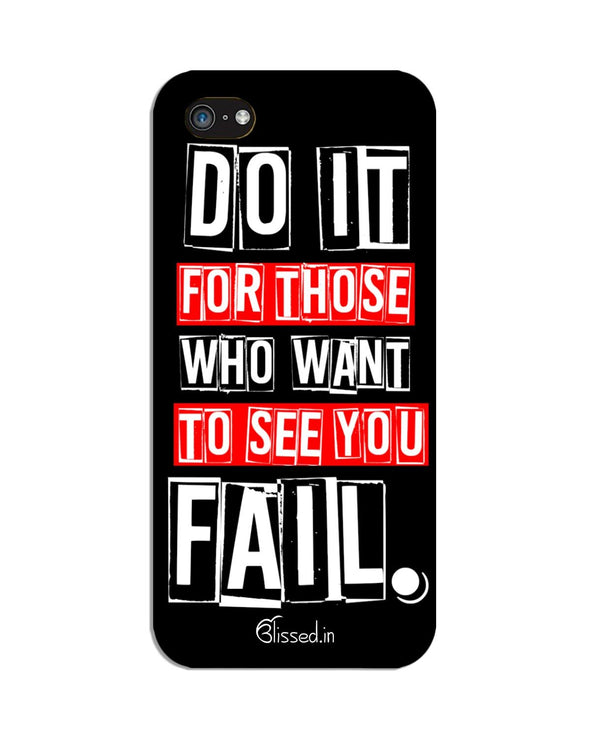 Do It For Those | iPhone 5C Phone Case