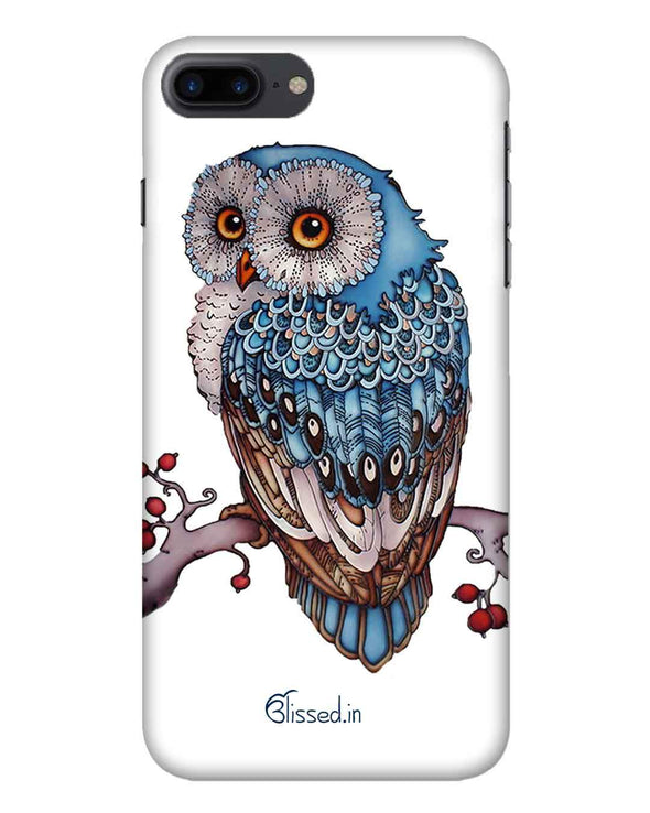 Blue Owl | iPhone 8 Plus Phone Case