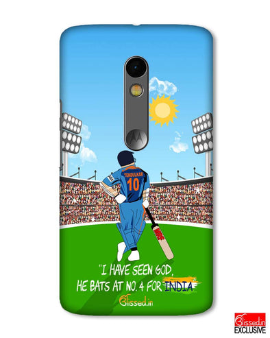Tribute to Sachin | Motorola X Play Phone Case