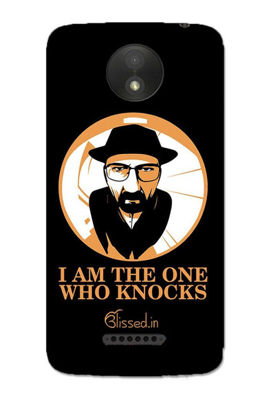 The One Who Knocks | MOTO C Phone Case