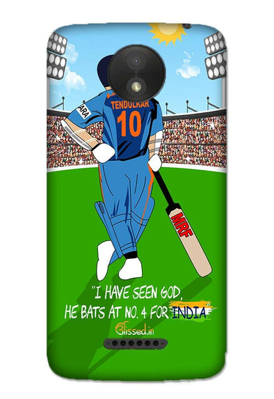 Tribute to Sachin | MOTO C Phone Case