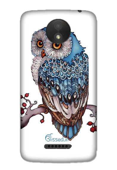 Blue Owl | MOTO C Phone Case