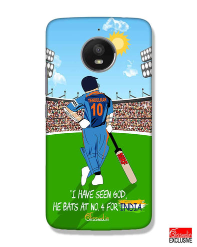 Tribute to Sachin | Motorola Moto E4 Plus Phone Case