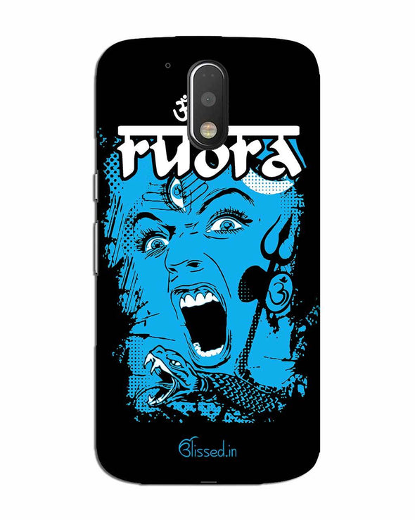 Mighty Rudra - The Fierce One | MOTO G4 Phone Case
