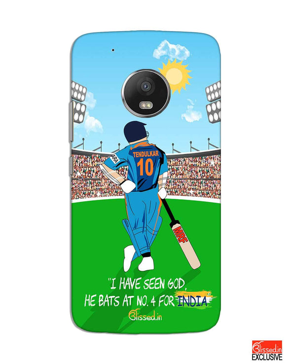 Tribute to Sachin | Motorola G5 Plus Phone Case